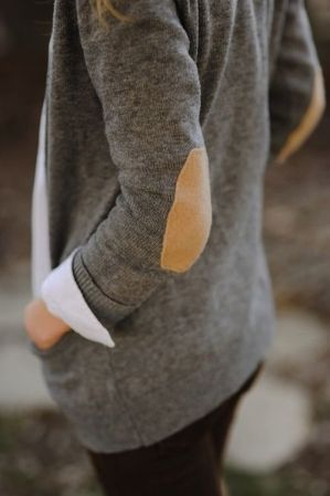 elbow patches cardigans